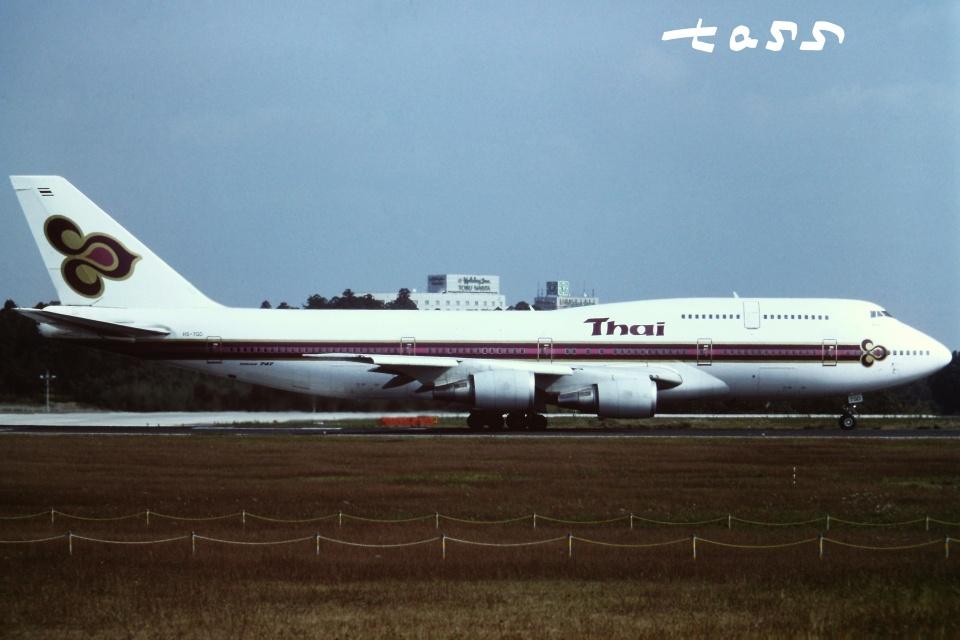 tassさんのタイ国際航空 Boeing 747-300 (HS-TGD) 航空フォト