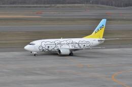 kumagorouさんが、新千歳空港で撮影したAIR DO 737-54Kの航空フォト(飛行機 写真・画像)