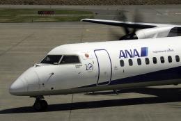 planetさんが、青森空港で撮影したANAウイングス DHC-8-402Q Dash 8の航空フォト(飛行機 写真・画像)