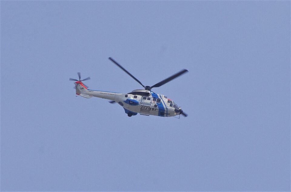 mild lifeさんの中日本航空 Aerospatiale AS332 Super Puma (JA6717) 航空フォト