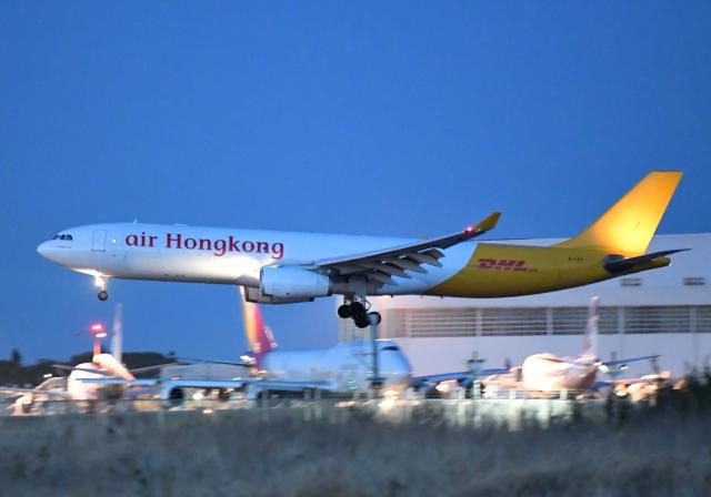 雲霧さんが、成田国際空港で撮影したエアー・ホンコン A330-343(P2F)の航空フォト(飛行機 写真・画像)
