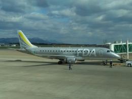 しんさんが、花巻空港で撮影したフジドリームエアラインズ ERJ-170-200 (ERJ-175STD)の航空フォト(飛行機 写真・画像)