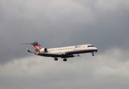 EosR2さんが、鹿児島空港で撮影したアイベックスエアラインズ CL-600-2C10 Regional Jet CRJ-702の航空フォト(飛行機 写真・画像)