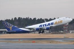 fly A340さんが、成田国際空港で撮影したアトラス航空 747-4B5F/ER/SCDの航空フォト(飛行機 写真・画像)