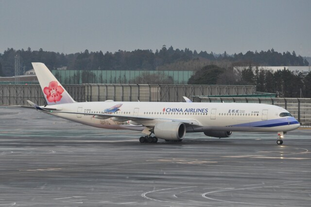 Flying A340さんが、成田国際空港で撮影したチャイナエアライン A350-941の航空フォト(飛行機 写真・画像)