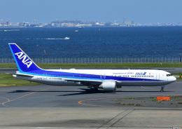 じーく。さんが、羽田空港で撮影した全日空 767-381/ERの航空フォト(飛行機 写真・画像)