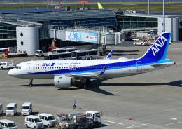じーく。さんが、羽田空港で撮影した全日空 A320-271Nの航空フォト(飛行機 写真・画像)