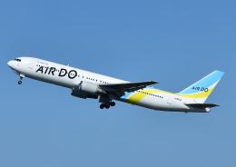 じーく。さんが、羽田空港で撮影したAIR DO 767-381/ERの航空フォト(飛行機 写真・画像)