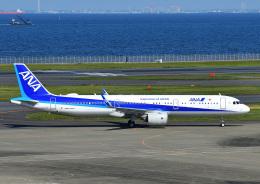 じーく。さんが、羽田空港で撮影した全日空 A321-272Nの航空フォト(飛行機 写真・画像)