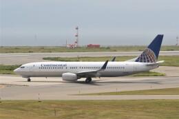 NIKEさんが、関西国際空港で撮影したコンチネンタル航空 737-824の航空フォト(飛行機 写真・画像)