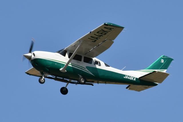 雪虫さんが、札幌飛行場で撮影した共立航空撮影 Turbo Stationair TC (T206H)の航空フォト(飛行機 写真・画像)