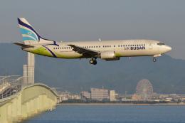 Deepさんが、関西国際空港で撮影したエアプサン 737-48Eの航空フォト(飛行機 写真・画像)