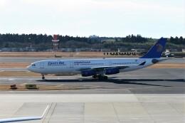 もぐ3さんが、成田国際空港で撮影したエジプト航空 A340-212の航空フォト(飛行機 写真・画像)