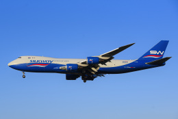 成田国際空港 - Narita International Airport [NRT/RJAA]で撮影されたシルクウェイ・ウェスト・エアラインズ - Silk Way West Airlines [7L/AZG]の航空機写真