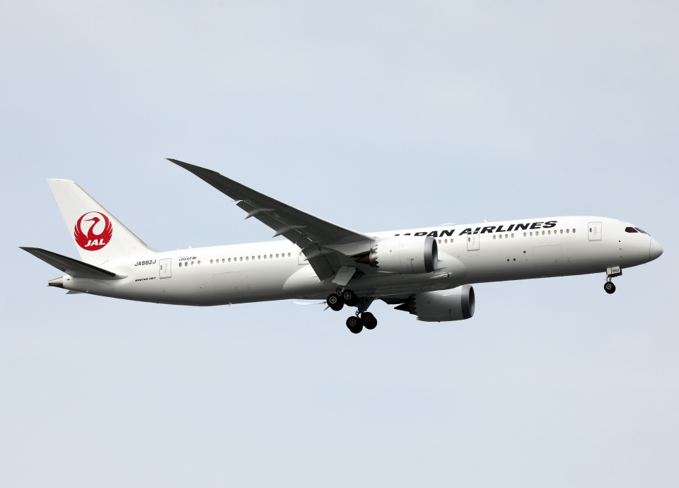 voyagerさんの日本航空 Boeing 787-9 (JA882J) 航空フォト