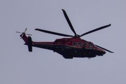 Timothyさんが、成田国際空港で撮影した日本法人所有 AW139の航空フォト(飛行機 写真・画像)