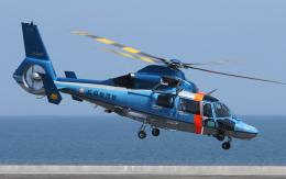 asuto_fさんが、大分空港で撮影した広島県警察 AS365N3 Dauphin 2の航空フォト(飛行機 写真・画像)