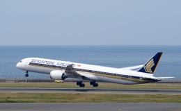 goshiさんが、中部国際空港で撮影したシンガポール航空 787-10の航空フォト(飛行機 写真・画像)
