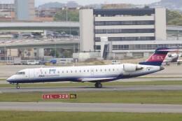 わいどあさんが、伊丹空港で撮影したアイベックスエアラインズ CL-600-2C10 Regional Jet CRJ-702の航空フォト(飛行機 写真・画像)