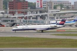 わいどあさんが、伊丹空港で撮影したアイベックスエアラインズ CL-600-2C10 Regional Jet CRJ-702ERの航空フォト(飛行機 写真・画像)