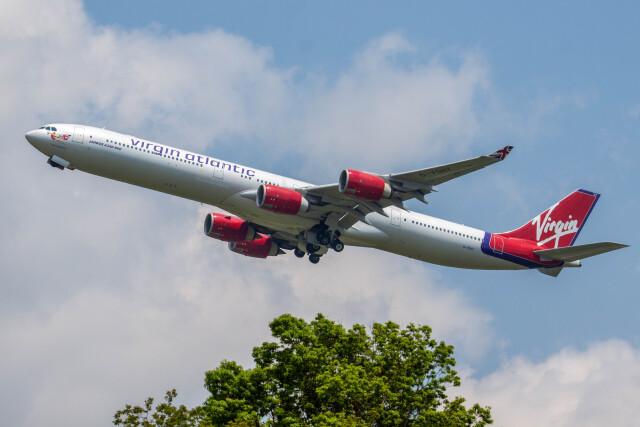 2012年05月18日に撮影されたヴァージン・アトランティック航空の航空機写真