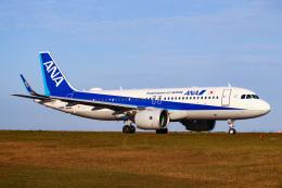 こぐともさんが、山口宇部空港で撮影した全日空 A320-271Nの航空フォト(飛行機 写真・画像)