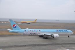 大韓航空 Boeing 777-300 (HL8010)  航空フォト | by わいどぼでぃさん  撮影2021年03月20日%s