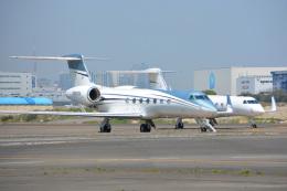 SKY☆101さんが、羽田空港で撮影したユタ銀行 G-V-SP Gulfstream G550の航空フォト(飛行機 写真・画像)