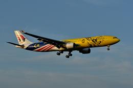 sepia2016さんが、成田国際空港で撮影したマレーシア航空 A330-323Xの航空フォト(飛行機 写真・画像)
