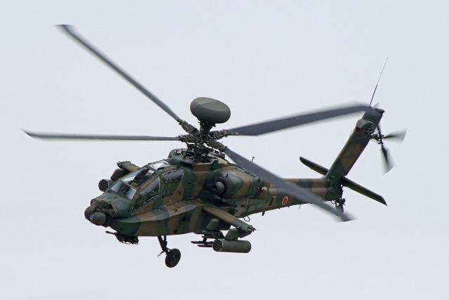 szkkjさんが、立川飛行場で撮影した陸上自衛隊 AH-64Dの航空フォト(飛行機 写真・画像)