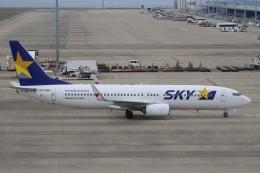 ☆ゆっきー☆さんが、中部国際空港で撮影したスカイマーク 737-81Dの航空フォト(飛行機 写真・画像)