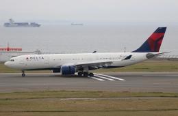 ☆ゆっきー☆さんが、中部国際空港で撮影したデルタ航空 A330-223の航空フォト(飛行機 写真・画像)