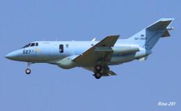 RINA-281さんが、小松空港で撮影した航空自衛隊 U-125A(Hawker 800)の航空フォト(飛行機 写真・画像)