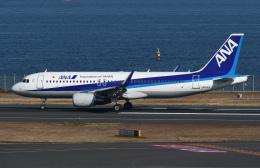 チャーリーマイクさんが、羽田空港で撮影した全日空 A320-214の航空フォト(飛行機 写真・画像)