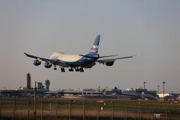 flyskyさんが、成田国際空港で撮影したシルクウェイ・ウェスト・エアラインズ 747-83QFの航空フォト(飛行機 写真・画像)