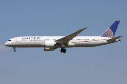 sky-spotterさんが、成田国際空港で撮影したユナイテッド航空 787-9の航空フォト(飛行機 写真・画像)