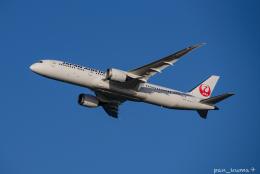 ぱん_くまさんが、羽田空港で撮影した日本航空 787-9の航空フォト(飛行機 写真・画像)