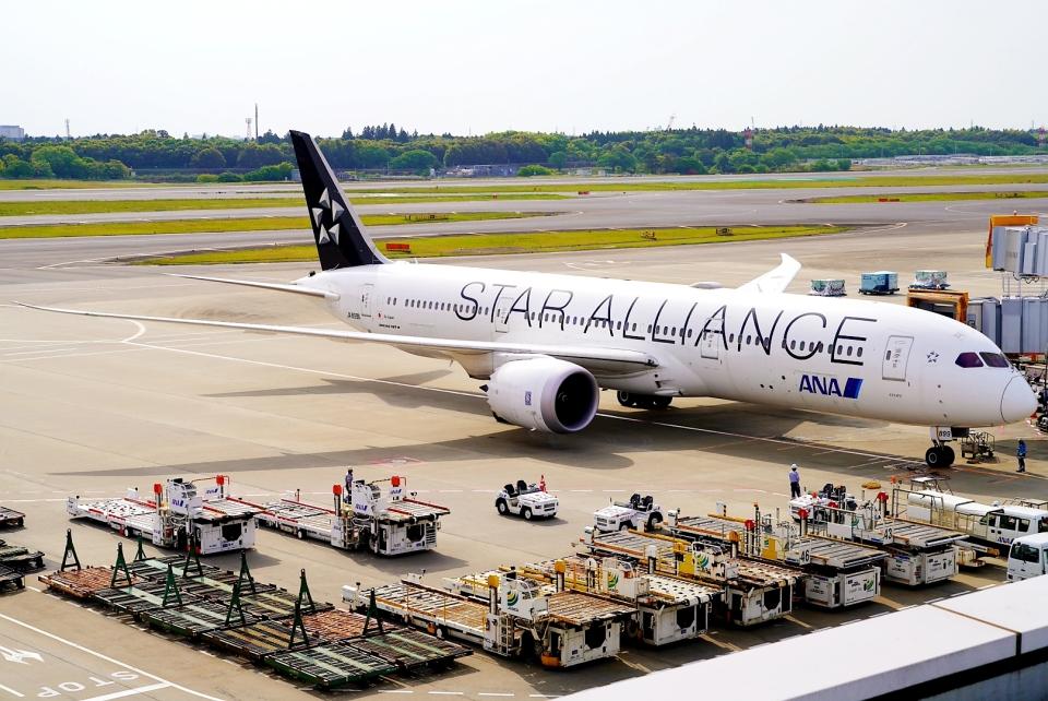 SFJ_capさんの全日空 Boeing 787-9 (JA899A) 航空フォト