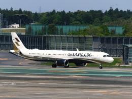 DVDさんが、成田国際空港で撮影したスターラックス・エアラインズ A321-252NXの航空フォト(飛行機 写真・画像)