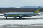 ちょっぱさんが、新千歳空港で撮影したAIR DO 767-381の航空フォト(飛行機 写真・画像)