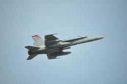 ヨッちゃんさんが、厚木飛行場で撮影したアメリカ海兵隊 F/A-18C Hornetの航空フォト(飛行機 写真・画像)