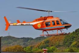 ブルーさんさんが、静岡ヘリポートで撮影した新日本ヘリコプター 206L-3 LongRanger IIIの航空フォト(飛行機 写真・画像)