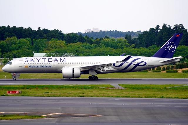 航空フォト:VN-A897 ベトナム航空 A350-900