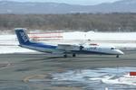 ちょっぱさんが、新千歳空港で撮影したANAウイングス DHC-8-402Q Dash 8の航空フォト(飛行機 写真・画像)