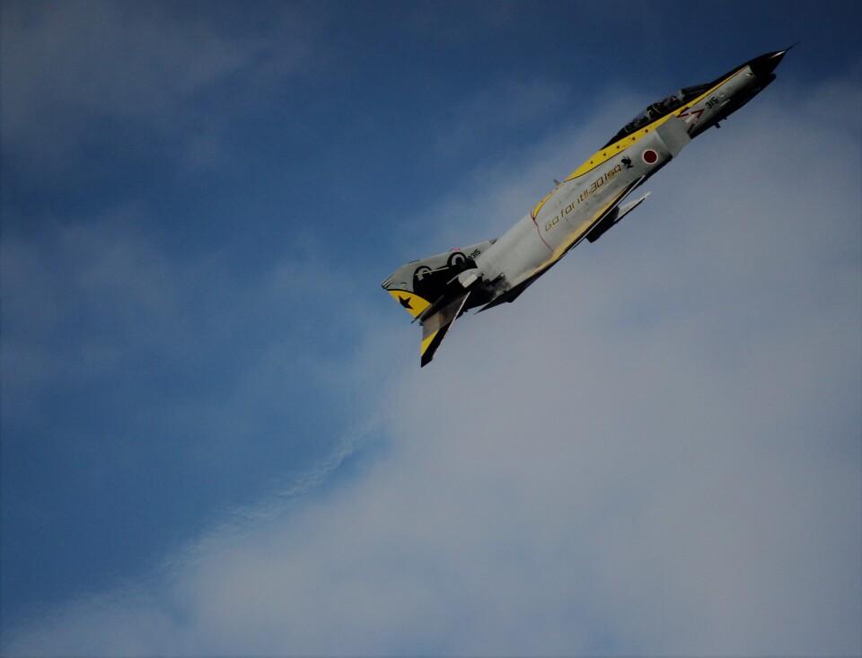 こびとさんさんの航空自衛隊 Mitsubishi F-4EJ Kai Phantom II (37-8315) 航空フォト