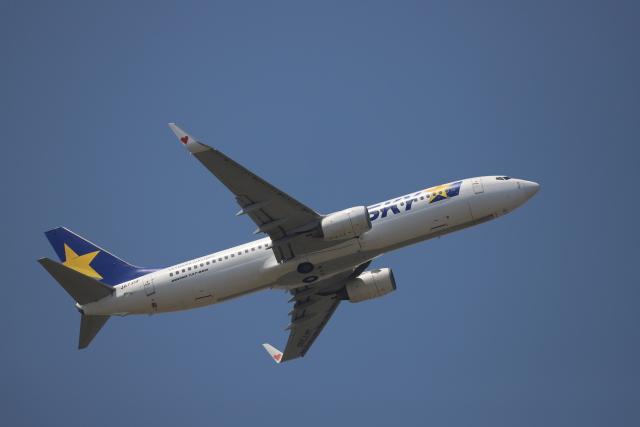赤ちんさんが、茨城空港で撮影したスカイマーク 737-86Nの航空フォト(飛行機 写真・画像)