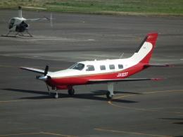 ヒコーキグモさんが、岡南飛行場で撮影した日本法人所有 PA-46-350P Malibu Mirageの航空フォト(飛行機 写真・画像)