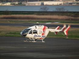 ヒコーキグモさんが、岡南飛行場で撮影したセントラルヘリコプターサービス BK117C-2の航空フォト(飛行機 写真・画像)