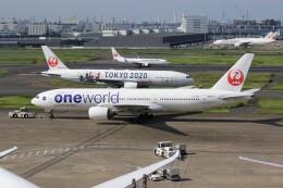 メンチカツさんが、羽田空港で撮影した日本航空 777-246の航空フォト(飛行機 写真・画像)