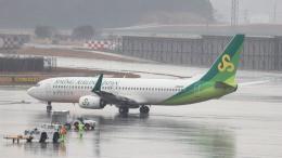 誘喜さんが、成田国際空港で撮影した春秋航空日本 737-86Nの航空フォト(飛行機 写真・画像)